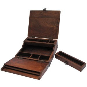 Antique Portable Lap Desk Gift for Writers