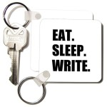 Funny Key Chain Gift for Writers
