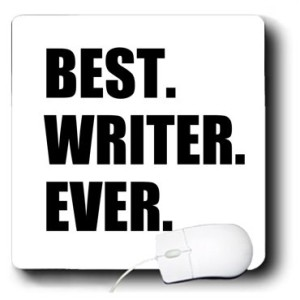 Funny Mouse Pad Gift for Writers