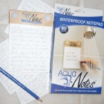 Notepad for the Shower Gift for Writers