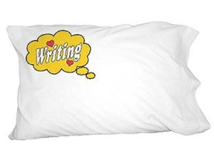 Dreaming of Writing Standard Pillowcase