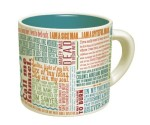 Literary Lines Mug for People Who Like to Write